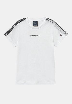 AMERICAN TAPE CREWNECK - T-shirt con stampa - white