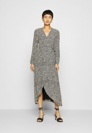 NATASJA TARA DRESS - Vapaa-ajan mekko - black/cream white