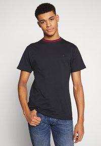 Le Fix - TEE - T-shirt basique - navy - 0