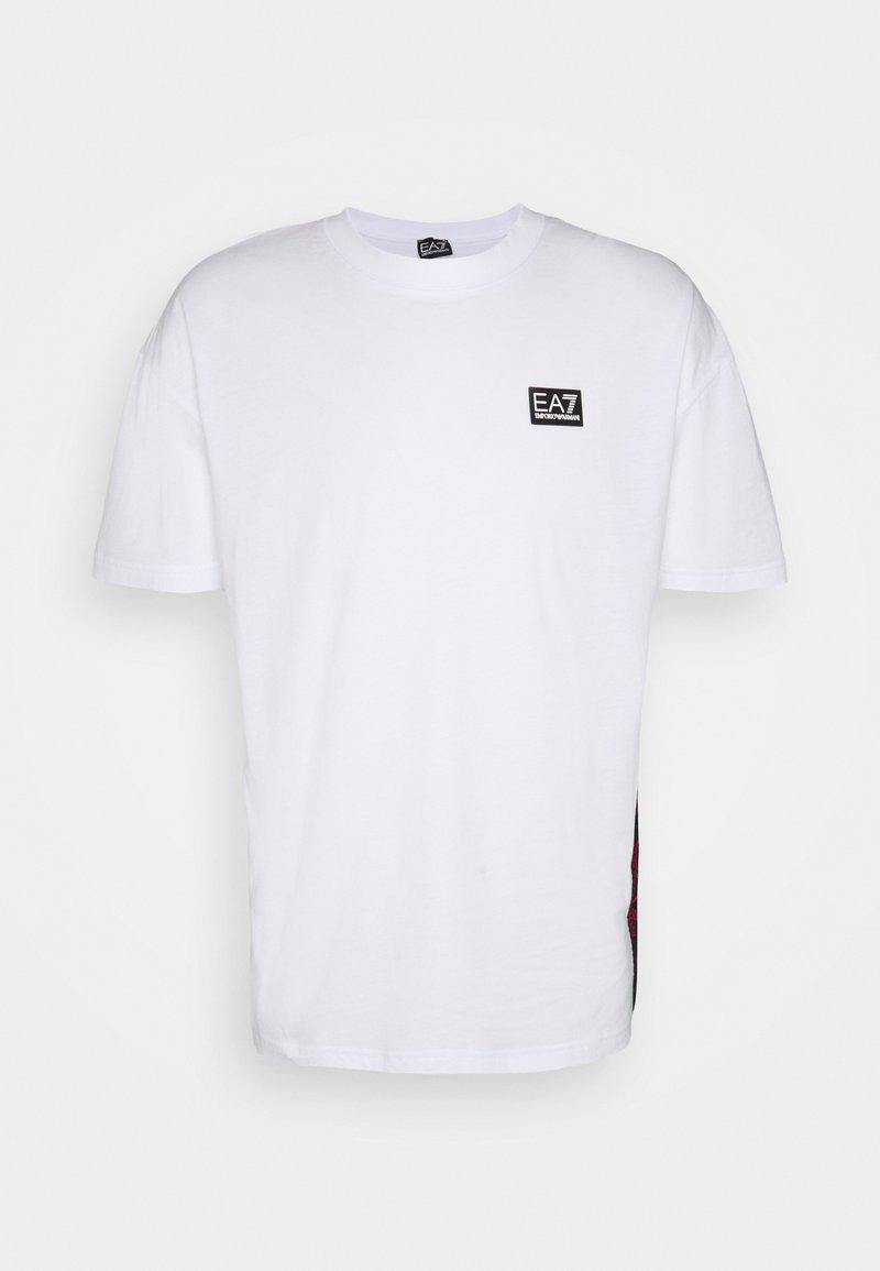 EA7 Emporio Armani - Print T-shirt - white