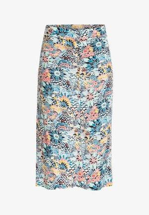 MARINE BLOOM  - A-line skirt - powder puff flower party women