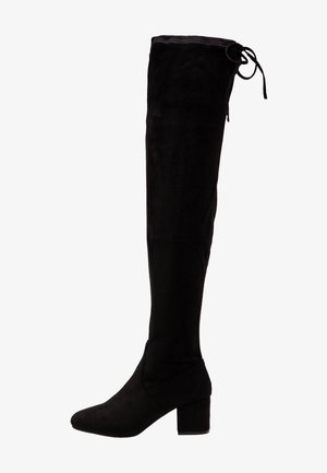 Overknees - black