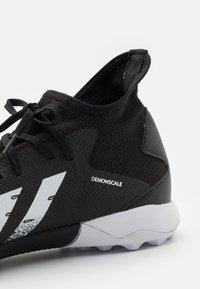 adidas Performance - PREDATOR FREAK .3 TF - Astro turf trainers - core black/footwear white - 5