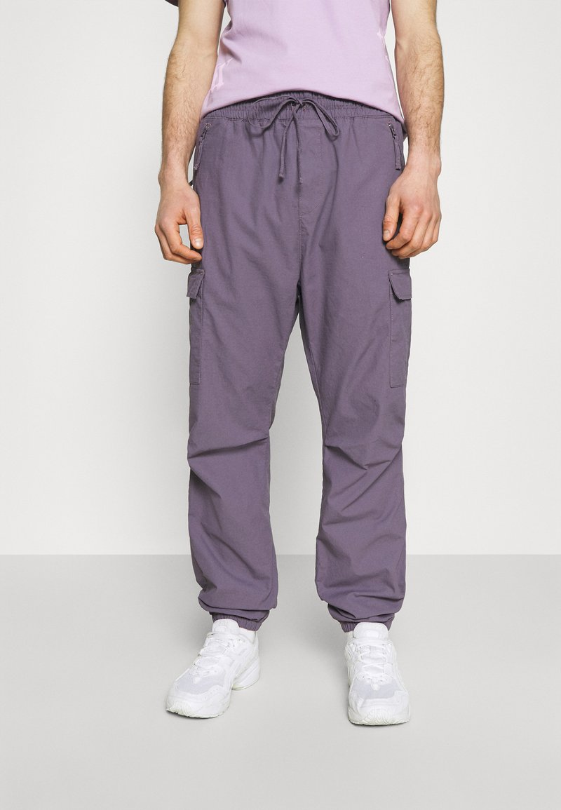Carhartt WIP - JOGGER COLUMBIA - Cargo trousers - provence rinsed