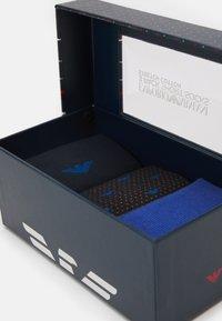 Emporio Armani - SHORT SOCKS 3 PACK - Socks - bluette - 2