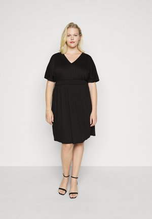 VMRITA SMOCK DRESS - Day dress - black