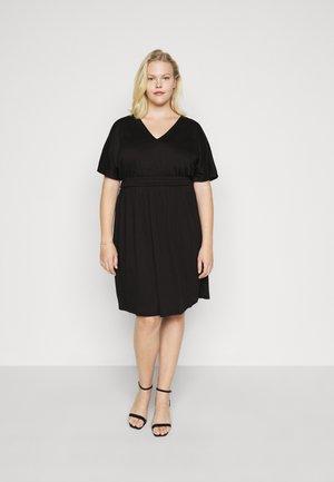 VMRITA SMOCK DRESS - Korte jurk - black