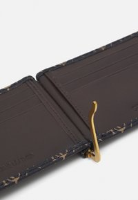 Guess - VEZZOLA MONEY CLIP CARD CASE - Plånbok - dark brown