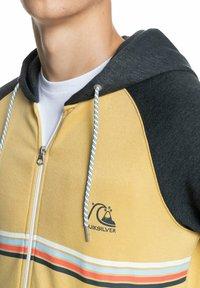 Quiksilver - EVERYDAY - Zip-up sweatshirt - rattan - 4