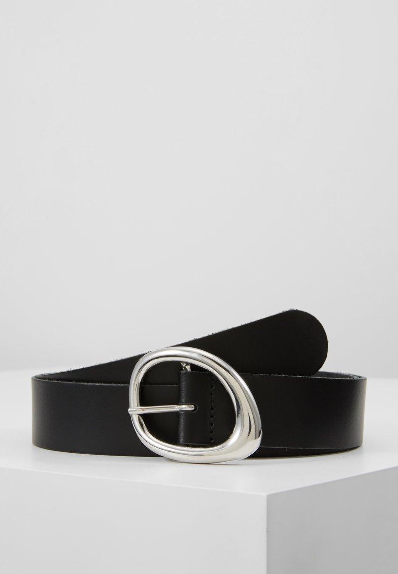 KIOMI - LEATHER - Pásek - black