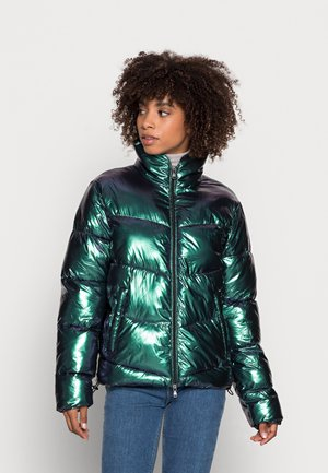 MAURICIE RECYCLED GLAMOUR - Talvitakki - recycledshiny green