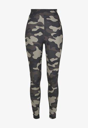 Leggings - Trousers - dark camo
