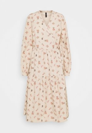 YASCUTIE MIDI WRAP DRESS - Day dress - moonlight/cutie