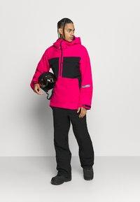 Burton - RESERVE BIB - Snow pants - true black - 1