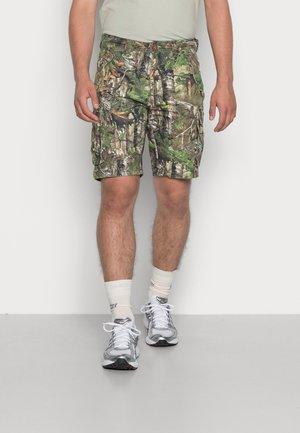 MILITARY SHORT - Shorts - leaf