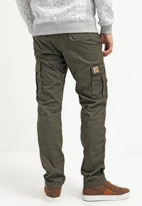 Carhartt WIP - AVIATION PANT COLUMBIA - Pantalones cargo - cypress rinsed - 2