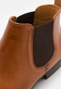 Zign - LEATHER - Classic ankle boots - cognac - 5