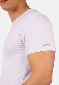 Bandoo Underwear - 2PACK - Undershirt - white,white - 2