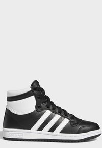 adidas Originals - TOP TEN SPORTS STYLE MID SHOES - High-top trainers - black - 8