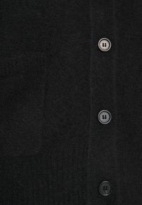 ARKET - HEAVY KNIT - Kardigan - black - 5