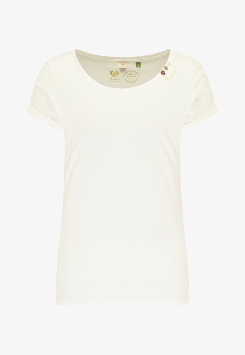 Ragwear - Print T-shirt - white