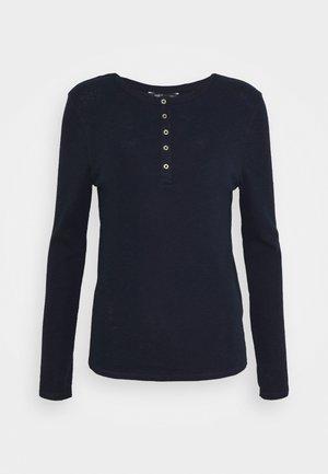 SCOOP HENLEY - Longsleeve - dark blue