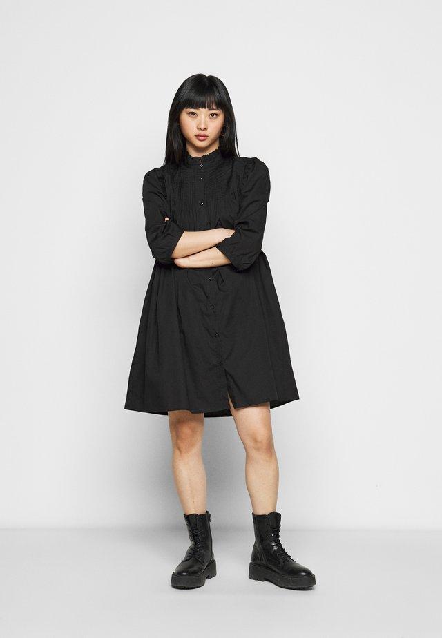 YASROBBIA DRESS - Abito a camicia - black