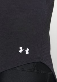 Under Armour - STREAKER HALF ZIP - Long sleeved top - black - 4