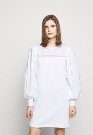 MIX DRESS - Day dress - white