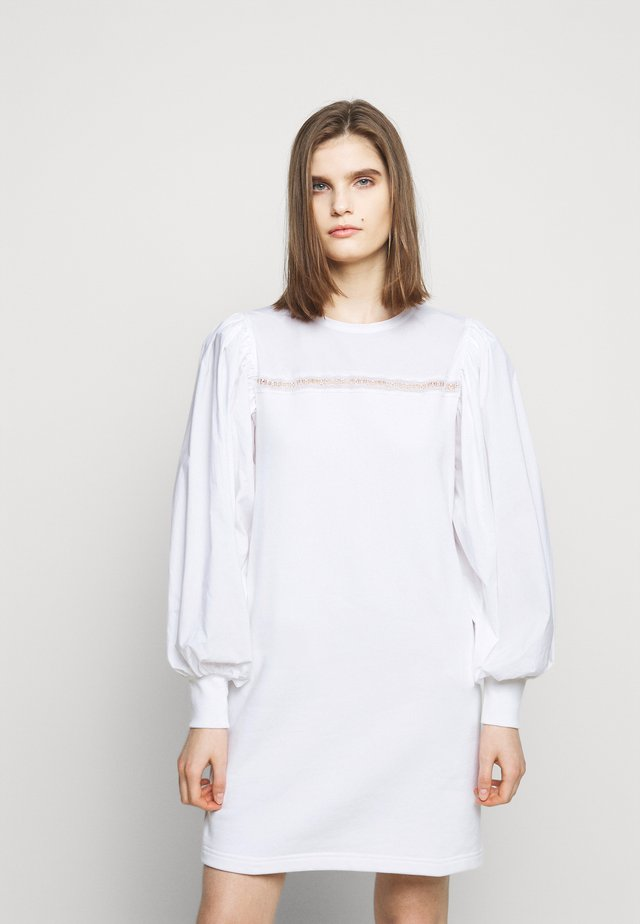 MIX DRESS - Sukienka letnia - white