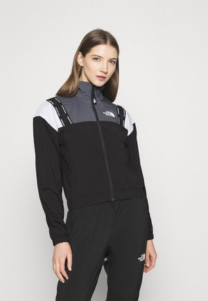 WIND JACKET - Veste de survêtement - black/vanadis grey