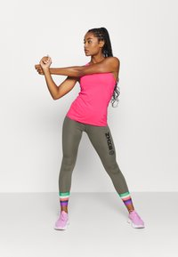 Nike Performance - TANK ALL OVER  - Funktionsshirt - hyper pink/white - 1