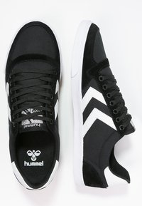 Hummel - SLIMMER STADIL - Sneakers basse - black/white - 1
