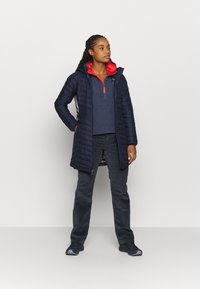 Columbia - NORTHERN REACH SHERPA ANORAK - Fleece trui - nocturnal - 1