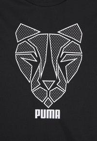 Puma - Triko spotiskem - black - 2