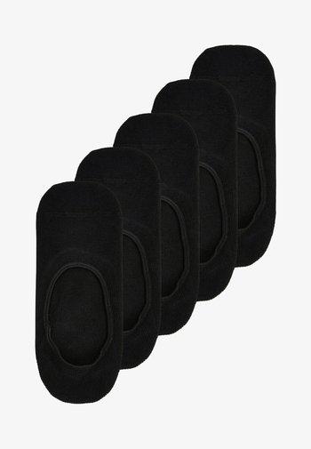 FOOTSIES FIVE PACK - Socks - black