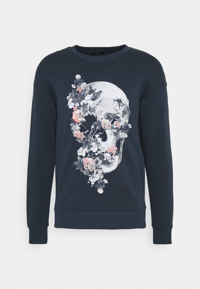JPRBLA PARADOX CREW NECK - Sweater - dress blues