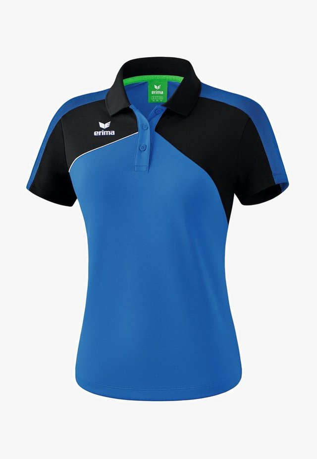 PREMIUM ONE 2.0 POLOSHIRT DAMEN - Polo shirt - new royal / schwarz