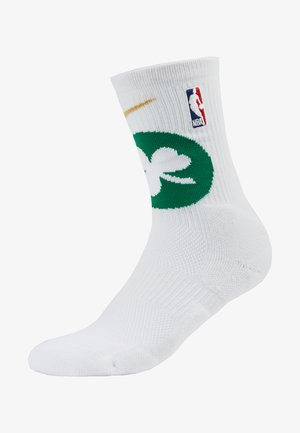 NBA BOSTON CELTICS ELITE - Sports socks - white/clover