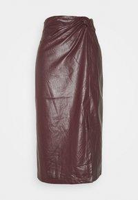 EDITED - SILVA SKIRT - Pencil skirt - rot - 0