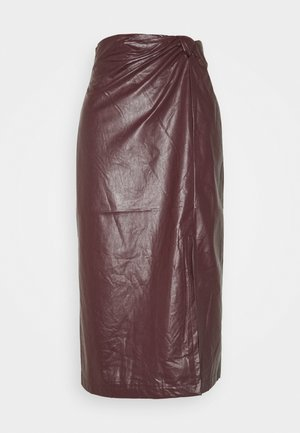 SILVA SKIRT - Pencil skirt - rot