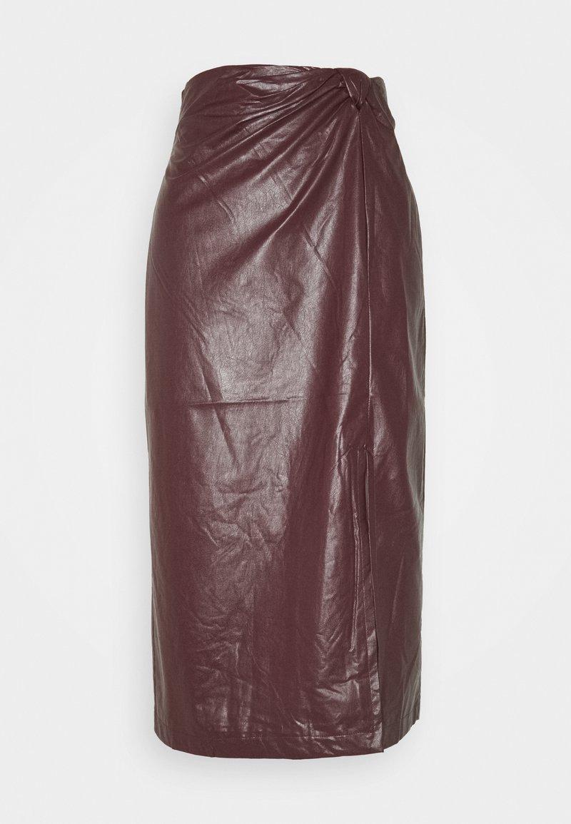 EDITED - SILVA SKIRT - Pencil skirt - rot