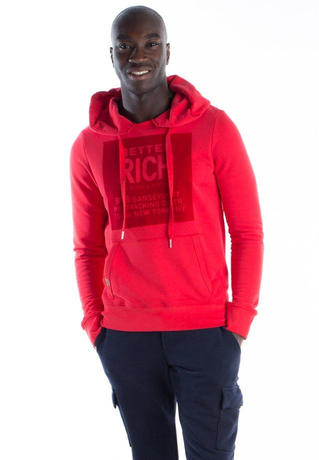 Hoodie - 3002 red