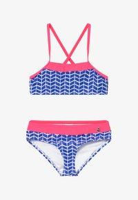 s.Oliver - SET - Bikini - blue/white - 2