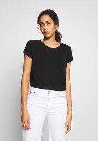 ONLY - ONLGRACE  - T-shirts basic - black - 0