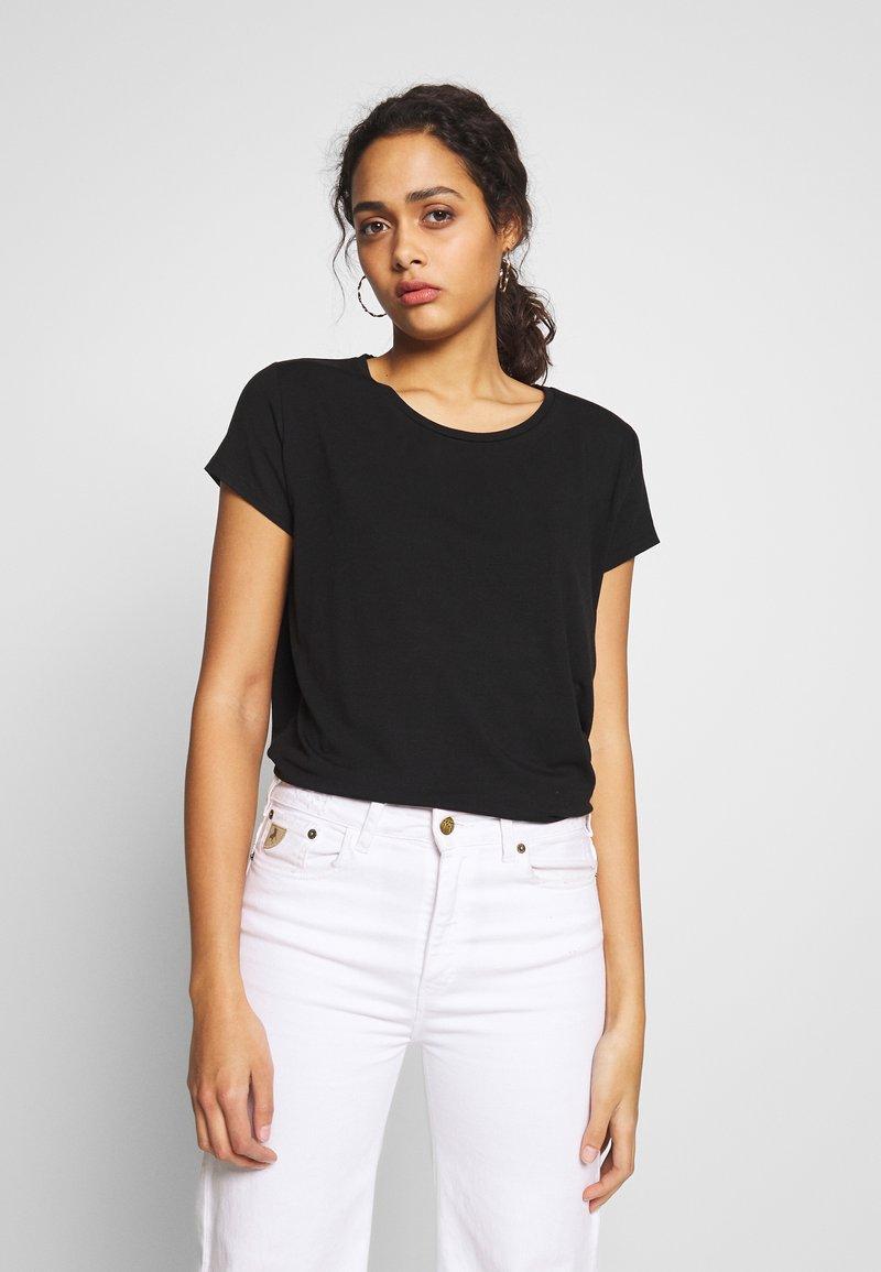 ONLY - ONLGRACE  - T-shirts basic - black