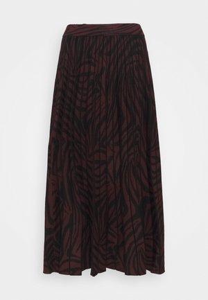VIVIYNN - A-line skirt - oxblood