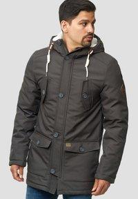 INDICODE JEANS - Winter coat - gray - 0