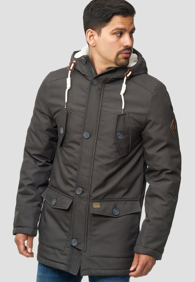 INDICODE JEANS - Winter coat - gray