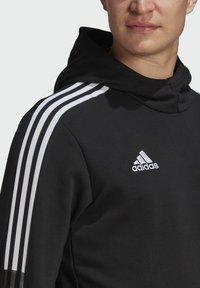 adidas Performance - TIRO 21 SWEAT HOODIE - Luvtröja - black - 3